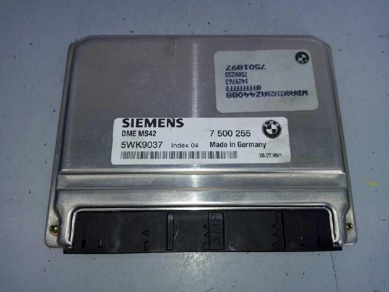 BMW 328 5WK9037 DME MS42 DMEMS42 7 500 255 7500255
