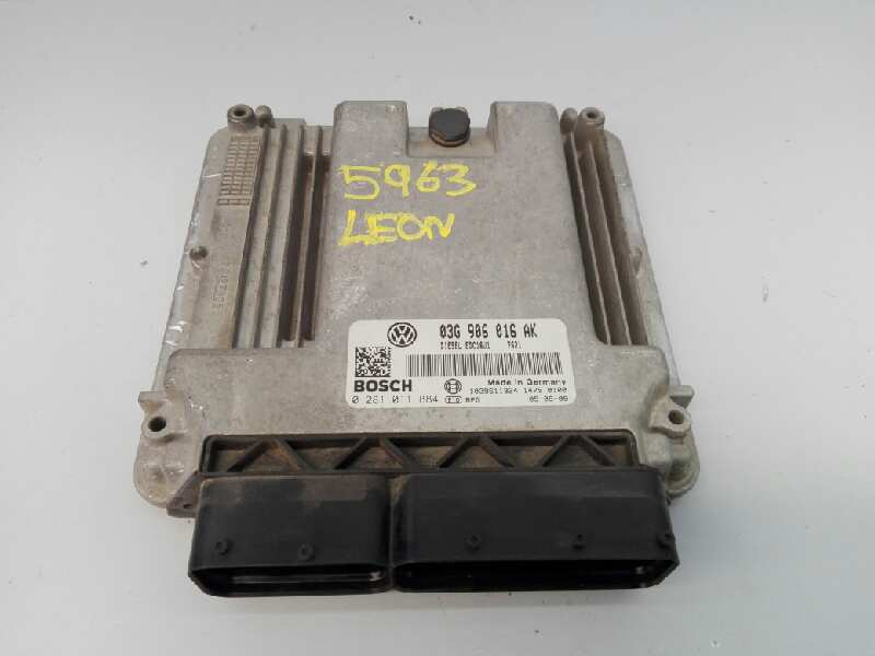 SEAT LEON MK2 1.9 TDI BKC ENGINE ECU UNIT 03G906016AK 0281011884