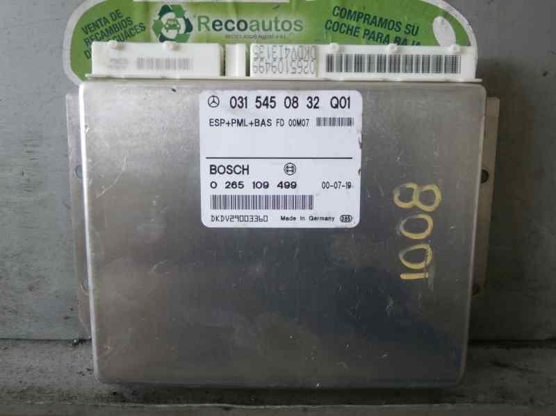 Mercedes Benz E-Class w210 ECU ESP PML BAS part nr 0315450832 Bosch 0265109499