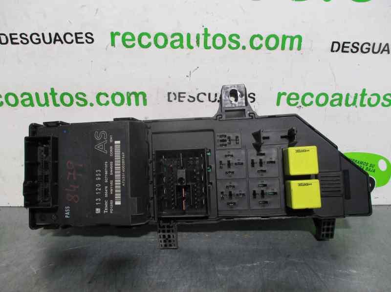 [DIAGRAM_4FR]  Fuse Box OPEL SIGNUM Hatchback (Z03) 2.2 DTI (F48) 13120953 | 24443147 |  B-Parts | Opel Signum Fuse Box |  | B-Parts