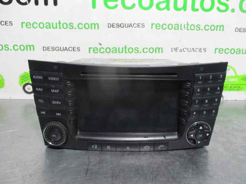 Para mercedes Navi e-Klasse w211 CLS c219 g w463 sistema de navegación radio GPS
