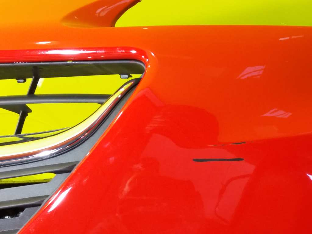 Original gm opel soporte japone parachoques corsa e x15 la parte delantera izquierda 39003558