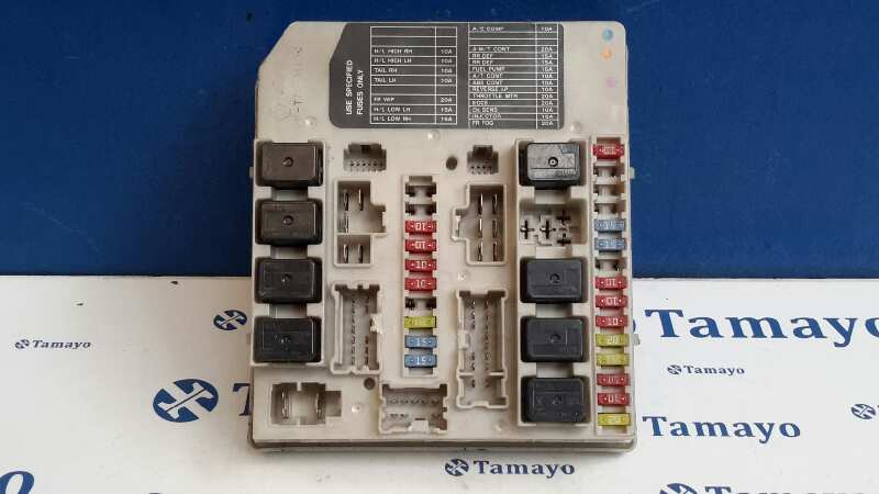 Fuse Box NISSAN NOTE (E11, NE11) 1.5 dCi 284B7AX62A | B-Parts Nissan Cabstar Fuse Box on
