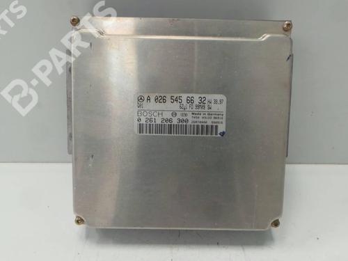 A0265456632 ; 0261206300;  Centralita motor M-CLASS (W163) ML 320 (163.154) (218 hp) [1998-2002] M 112.942 2009317