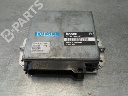 0281001077 22436225t6 Centralina do motor 5 (E34) 524 td (115 hp) [1988-1991] M21 D24 (246TB) 87115