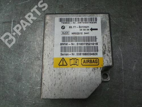 65.77-8372521 ; 31837252101B;  Centralina airbags 5 (E39) 525 d (163 hp) [2000-2003] M57 D25 (256D1) 1135759
