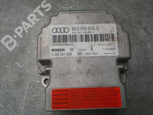 8E0959655G  0285001668 Kollisjonspute styreenhet A4 (8EC, B7) 2.0 TDI 16V (140 hp) [2004-2008] BRE 1211273
