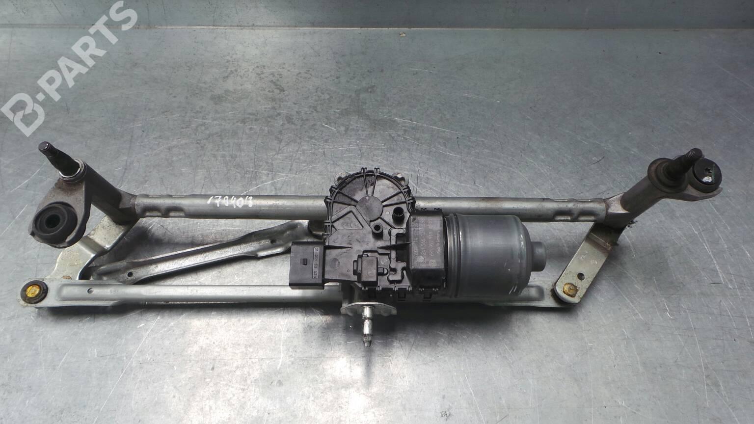 Essuie-Glace Moteur Vw Polo 6r tringlerie moteur avant 6r1955119a Bosch 6r1955023c ORIG.