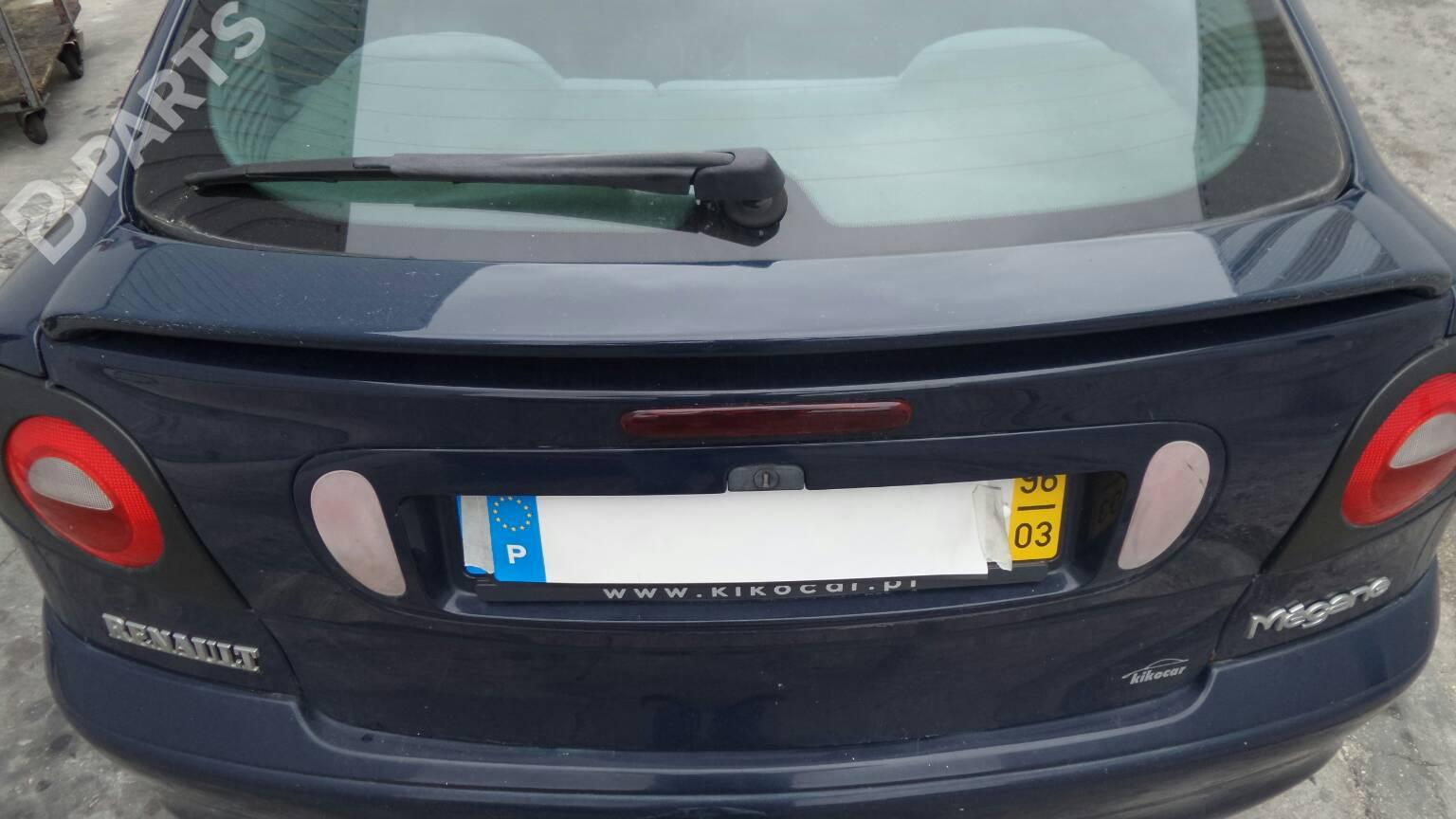 "RENAULT SCENIC TAILGATE LETTER /""I/"" FITS ON TAILGATE"