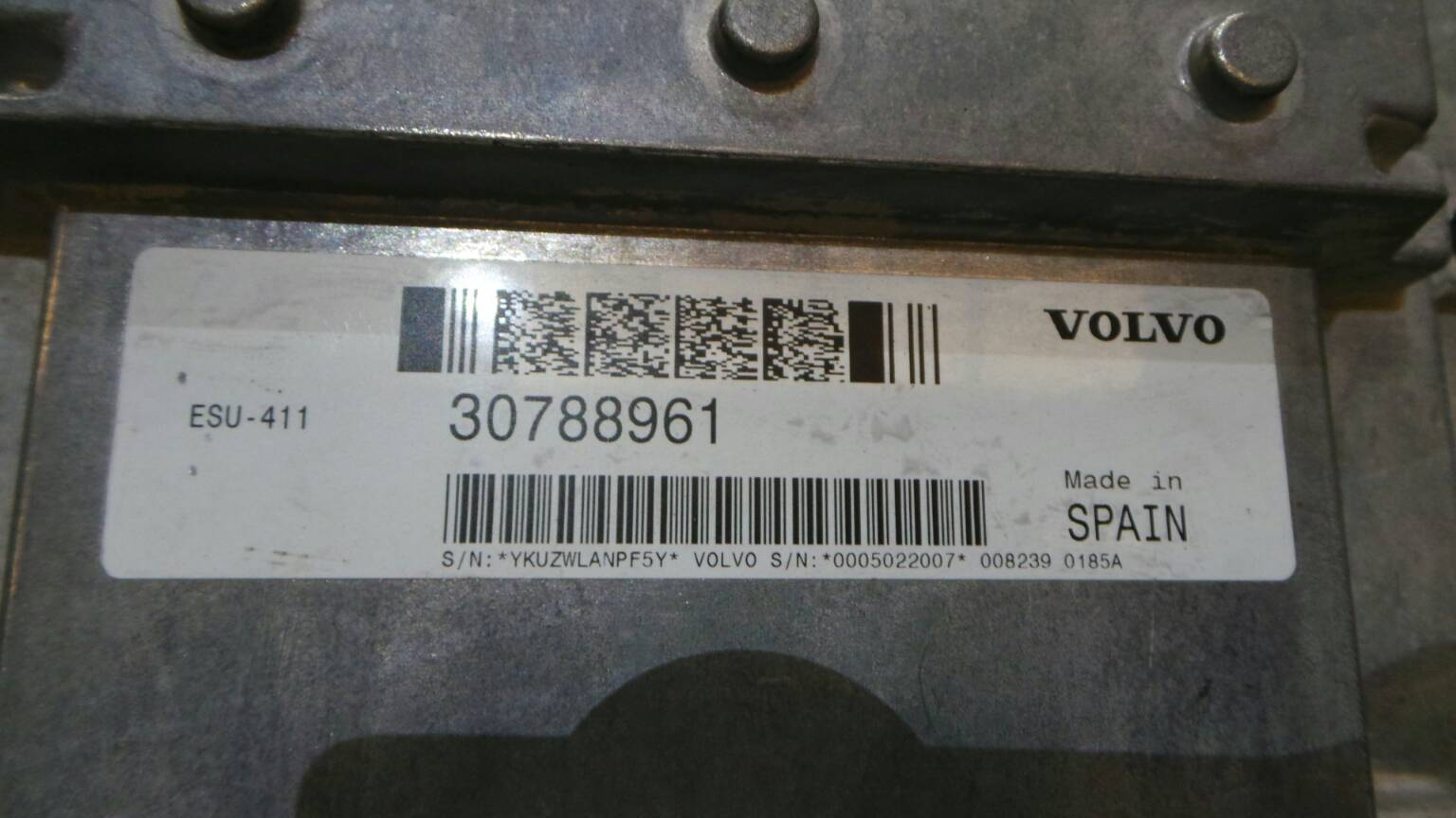 Volvo C30 S40 V50 Petrol Engine ECU 30788961