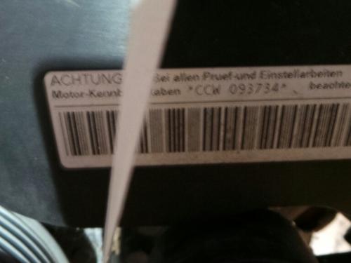 Motor AUDI A5 (8T3) 3.0 TDI quattro 093734 9615