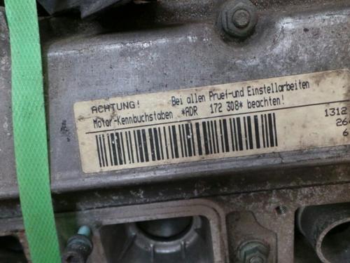 Motor AUDI A4 (8D2, B5) 1.8 172308 8794
