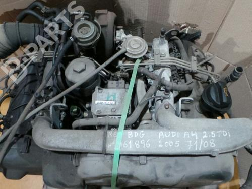 BDG / 61896 Motor A4 (8EC, B7) 2.5 TDI (163 hp) [2004-2006]  3484684