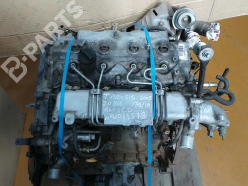 1CD-FTV / U071578 Motor AVENSIS Estate (_T25_) 2.0 D-4D (CDT250_) (116 hp) [2003-2008] 1CD-FTV 3484807