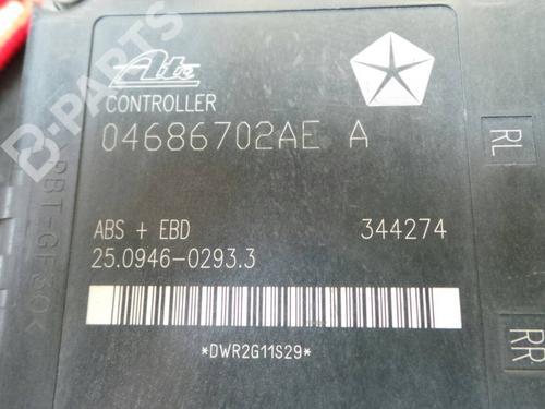 Módulo de ABS CHRYSLER VOYAGER IV (RG, RS) 2.5 CRD P04721427AK / 25.0204-0952.4 /04686702AEA;  271065