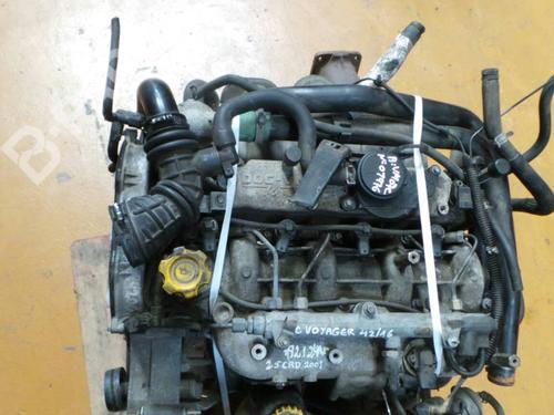 Motor CHRYSLER VOYAGER / GRAND VOYAGER III (GS) 2.5 TD VM07C;  376248