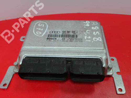 4D0 907 558 J / 0 261 206 019 Motorstyringsenhet A8 (4D2, 4D8) S 8 quattro (360 hp) [1999-2002]  3969195