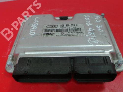 8E0 909 559 H / 0 261 207 839 Motorstyringsenhed A4 Convertible (8H7, B6, 8HE, B7) 3.0 (220 hp) [2002-2005] ASN 3965505