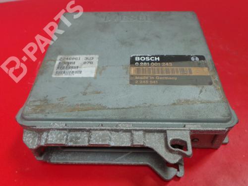 M41 D17 (174T1)/22460613U3 078 / 0 281 001 243 Centralina do motor 3 (E36)   3964131