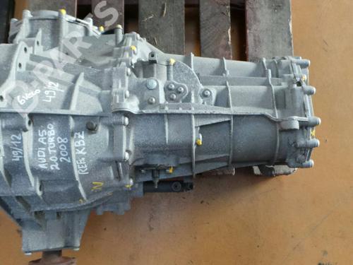 Schaltgetriebe AUDI A5 (8T3) 2.0 TFSI (211 hp) KBZ