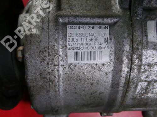 Klimakompressor AUDI A6 Avant (4F5, C6) 3.0 TDI quattro ASB / 4F0 260 805N 33323217