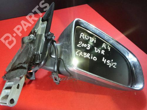 Außenspiegel rechts AUDI A4 Convertible (8H7, B6, 8HE, B7) 3.0 (220 hp)