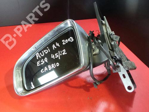 Außenspiegel links AUDI A4 Convertible (8H7, B6, 8HE, B7) 3.0 (220 hp)