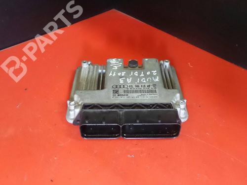 Motorstyringsenhet AUDI A3 (8P1) 2.0 TDI 03L 906 018 AB / 0281016306 1100383