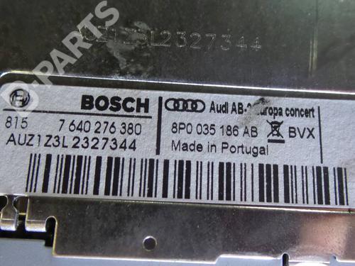 Auto-radio AUDI A3 (8P1) 2.0 TDI 8P0035186AB 1100403