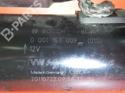 Motor de arranque AUDI A3 (8P1) 2.0 TDI 0001153009 / 02M911024C; 1159718