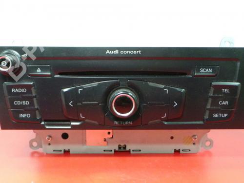 Autoradio AUDI A4 (8K2, B8) 2.0 TDI (143 hp) 8T1035186B