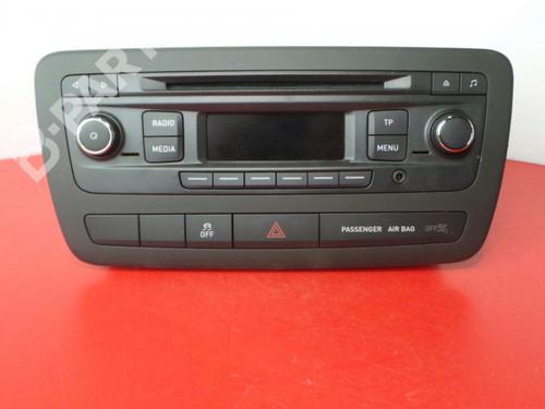 6J0035156 Auto-radio IBIZA IV (6J5, 6P1) 1.2 TSI (86 hp) [2012-2015] CBZA 3980340