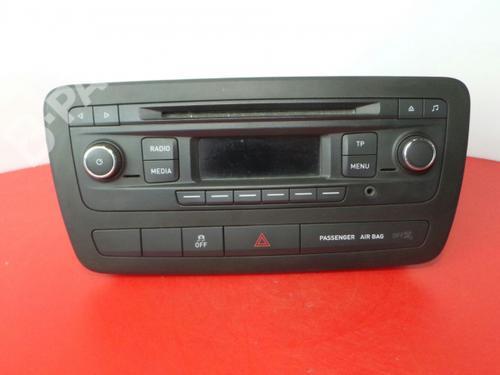 6J0035156 Auto-radio IBIZA IV (6J5, 6P1) 1.6 TDI (105 hp) [2009-2015] CAYC 3980344