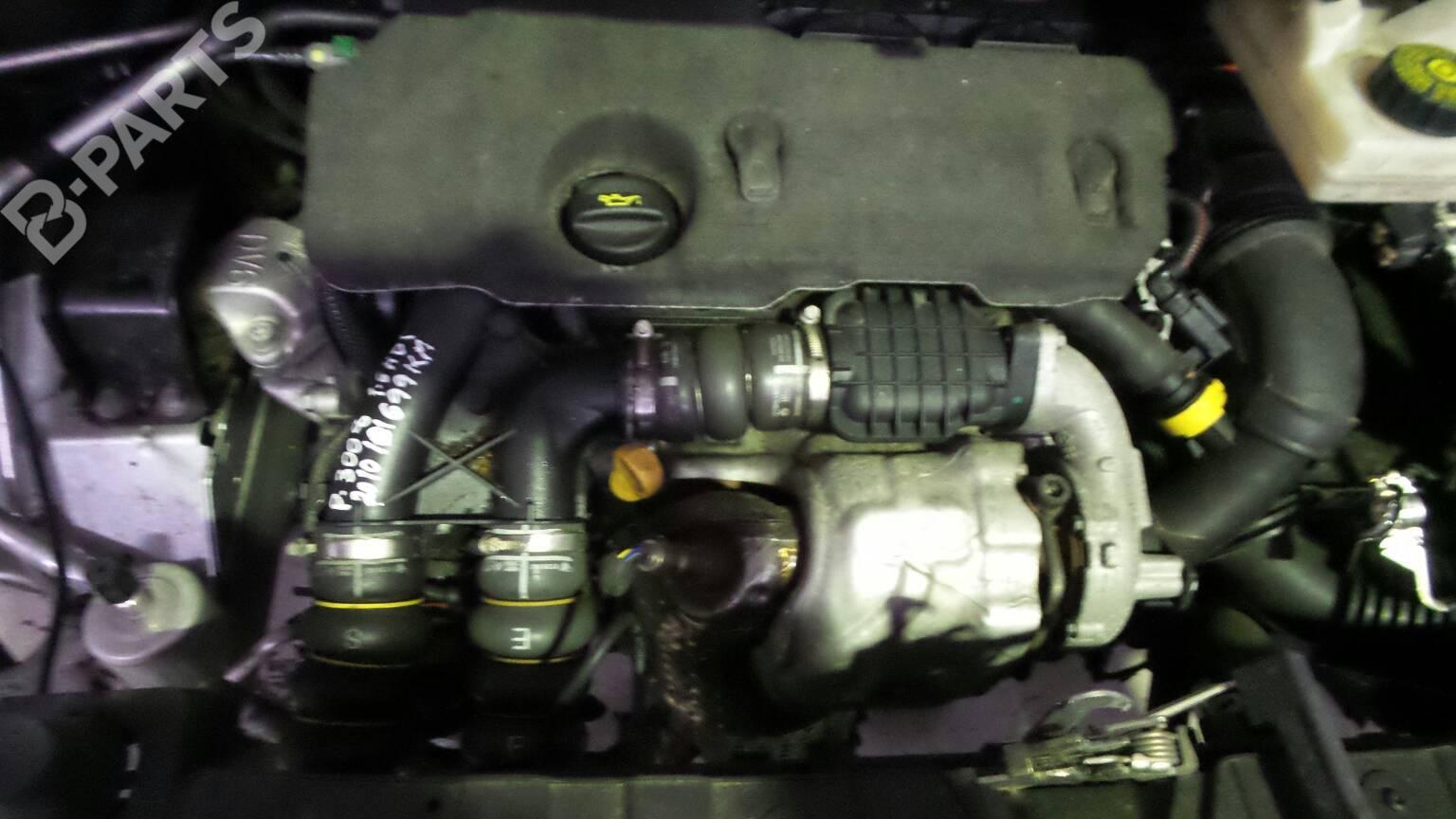 Moteur Peugeot 3008 Mpv 0u 1 6 Hdi 9hz B Parts