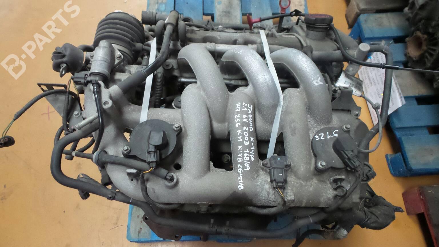 Engine Jaguar X Type X400 2 1 V6 Yb 2g421ab B Parts