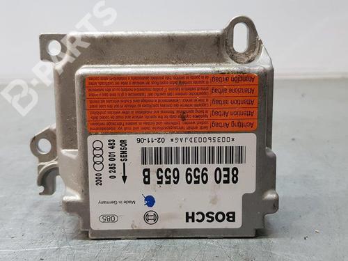 8E0959655B | Kollisjonspute styreenhet A4 (8E2, B6) 2.0 FSI (150 hp) [2002-2004] AWA 7910967