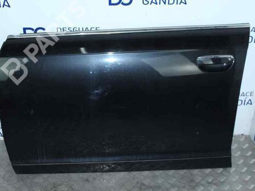 NEGRO | Tür links vorne A6 (4F2, C6) 2.0 TDI (140 hp) [2004-2008] BLB 7722610