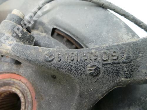Venstre hjullagerhus spindel BMW 3 (E90)  676157909 32241435
