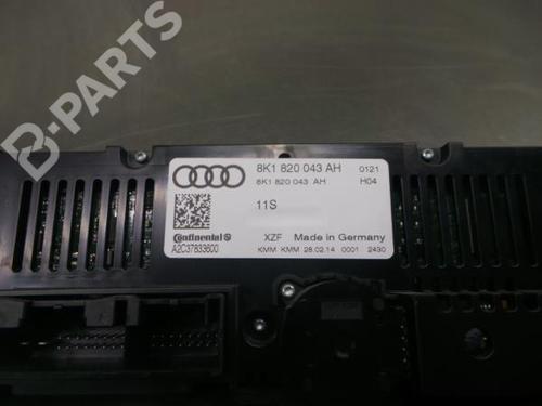 AC-Styringsenhed/Manøvreenhed AUDI A5 (8T3) 2.0 TDI 8K1820043AH / A2C37833600 35388807