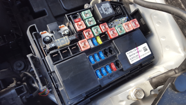 Fuse box HYUNDAI i20 (GB, IB) 1.0 T-GDI 91950C8470 / BKH5858331 | B-Parts | Hyundai I20 Fuse Box |  | B-Parts