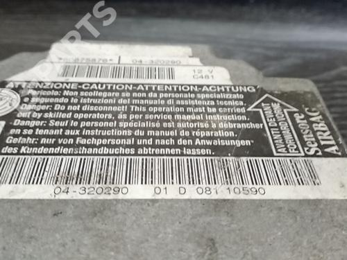 60675876 Calculateur Airbags 156 (932_)   6180975