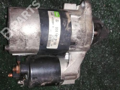 0051512101 Motor arranque A-CLASS (W168) A 140 (168.031, 168.131) (82 hp) [1997-2004]  6226030
