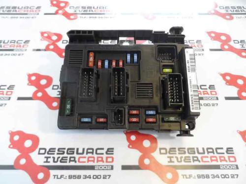 9650618480-00 Elektronisk modul XSARA PICASSO (N68) 1.6 16V (109 hp) [2005-2011] NFU (TU5JP4) 585629