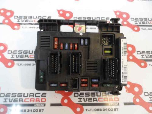 9650618480-00 Elektronisk modul XSARA PICASSO (N68) 1.6 HDi (90 hp) [2005-2011] 9HX (DV6ATED4) 358522