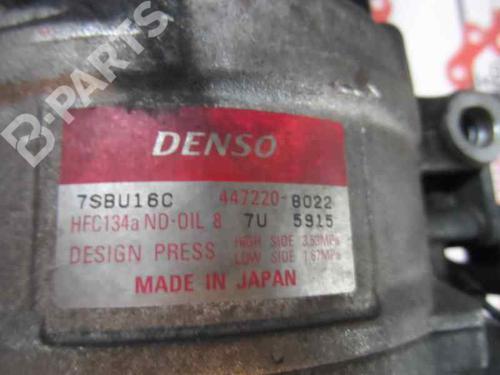 Compressor A/C BMW 5 (E39) 530 d 447220-8022 8413082