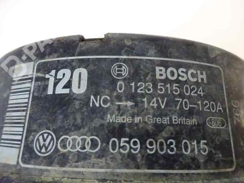 Generator AUDI A6 (4B2, C5) 2.5 TDI 059 903 015 1918050