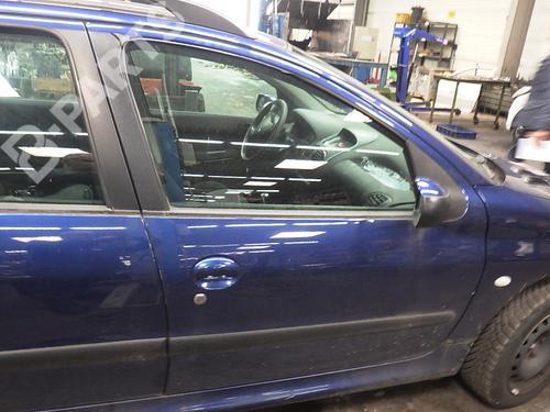 Porta frente direita 206 SW (2E/K) 1.4 (75 hp) [2002-2007]  4493369