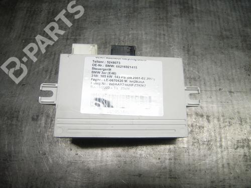 BMW: 66216921415 Elektronik Modul 3 (E46) 318 i (143 hp) [2001-2005]  5545854