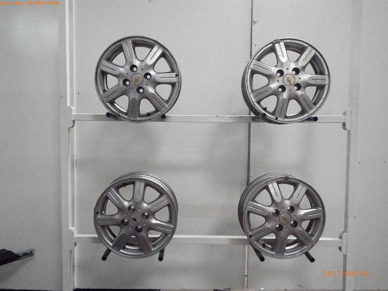 Jante Chevrolet Spark M300 1 2 4 1 2 X 14 1 Satz 4 Stk B Parts