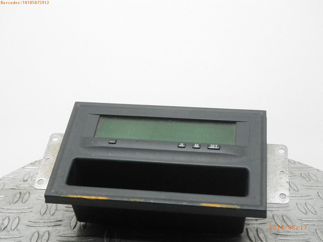 MITSUBISHI SHOGUN TOP DASH DISPLAY MR532881 2001-2006